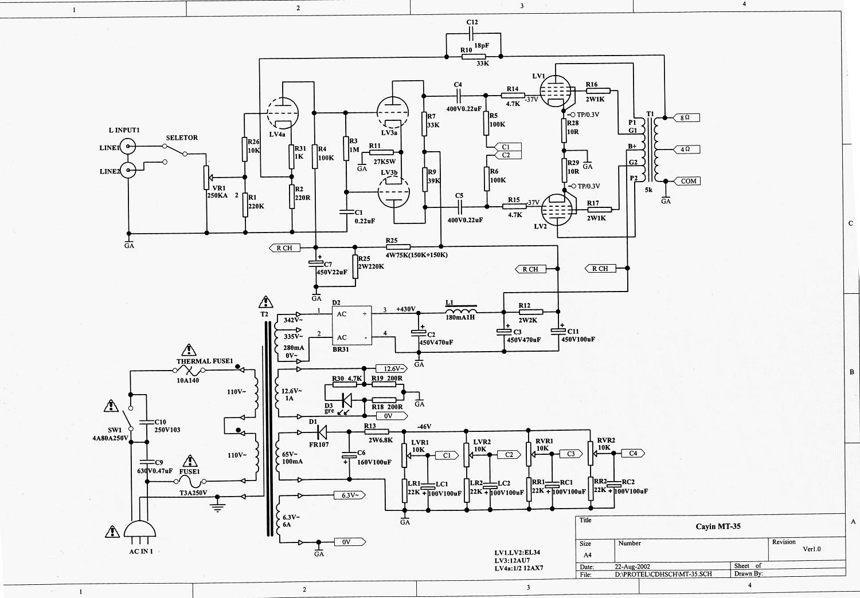 各位老师:请问斯巴克mt35如何调整偏压?(付电路图)